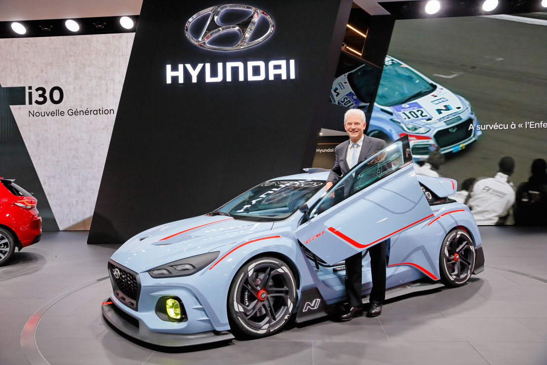 Hyundai RN30 Concept & Albert Biermann