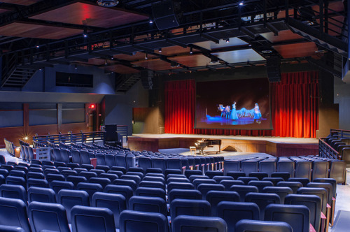Goshen High School Unveils Brand New Auditorium Featuring Redesigned Acoustics from WSDG