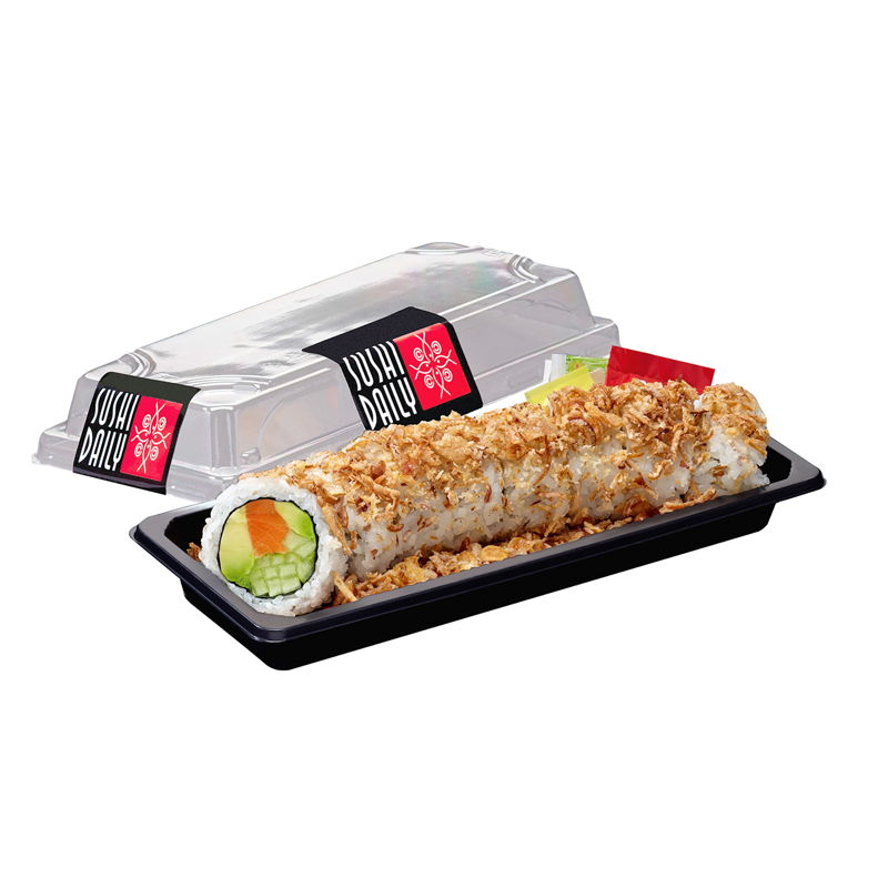 TOP 5 - 3. Crunch Salmon Roll