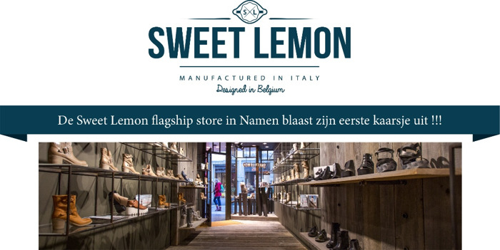Sweet Lemon, het merk dat aan je voeten ligt