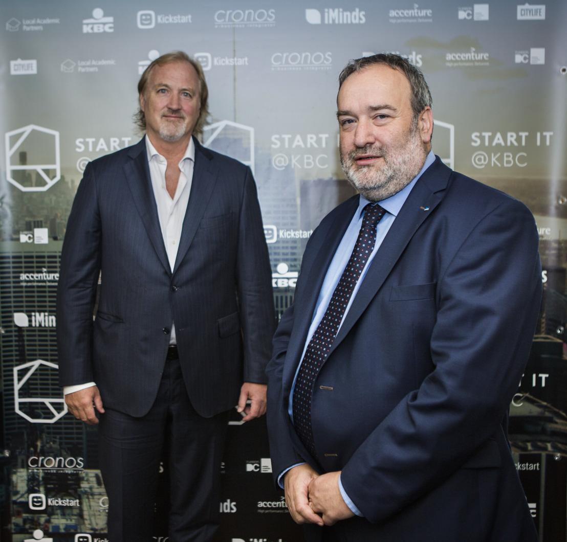 Un partenariat avec Telenet Kickstart qui profite au réseau et à l'expertise de Start it @kbc