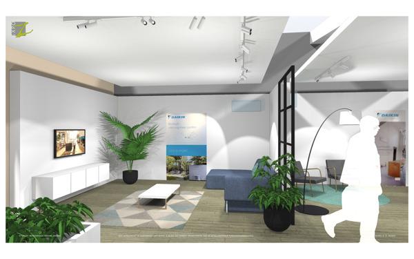 Preview: Daikin opent Showroom in Wavre