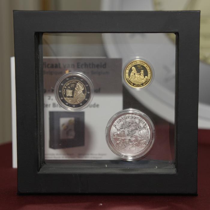 La Monnaie royale de Belgique rend hommage à Pieter Bruegel l'Ancien avec une pièce commémorative