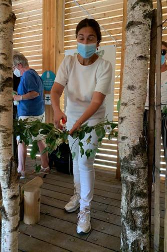 Minister van natuur Zuhal Demir opent onthaalpoort De Torenvalk in Meerdaalwoud
