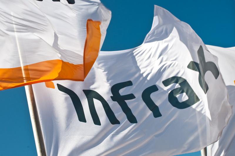 Vlaggen Infrax