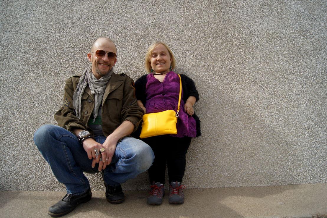Kiruna Stamell and her husband Gareth Berliner