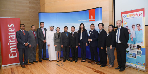 Emirates previews Cebu and Clark to local and regional travel industry partners