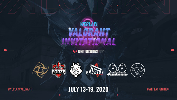 Preview: WePlay! VALORANT Invitational Announcement