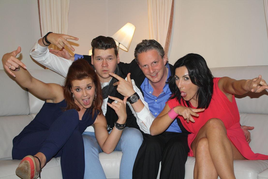 Magali, Max, Dirk en Melissa