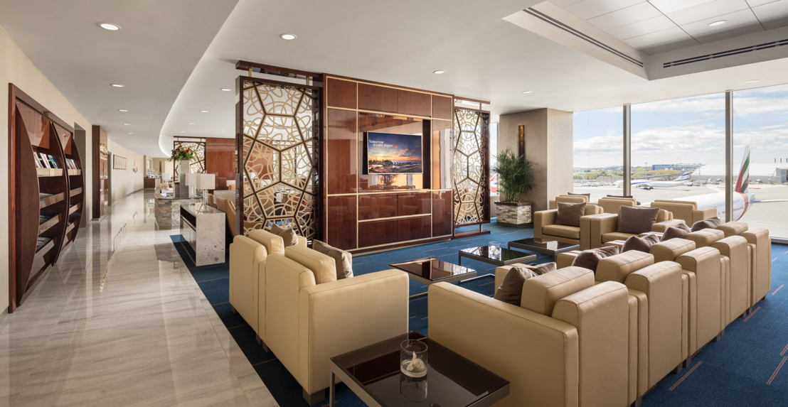 Emirates today announced the grand opening of its 41st dedicated lounge located at Boston Logan International Airport.