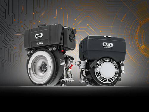 Hatz presents the worldwide first single-cylinder diesel with electronic controls