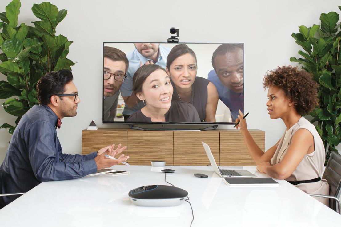 Logitech transforma la manera de hacer videoconferencias