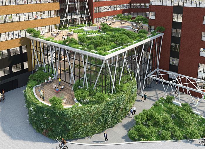 Greenhouse lance son troisième « business hub » innovant à Bruxelles