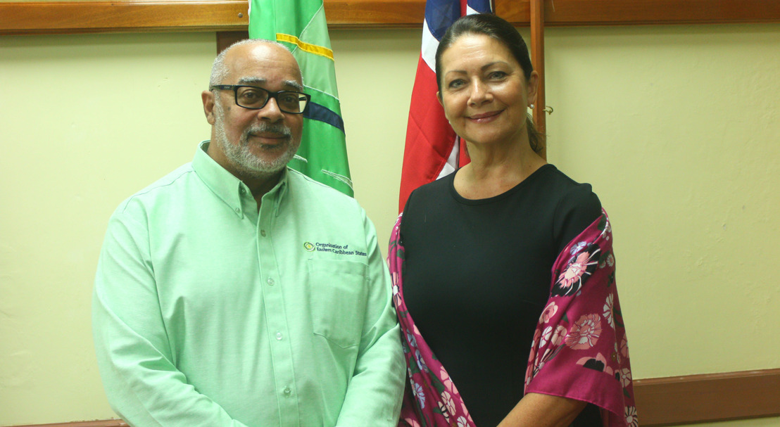Norwegian Ambassador presents credentials to OECS Director General
