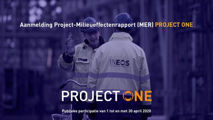 INEOS stelt aanpak milieueffectenonderzoek Project ONE voor