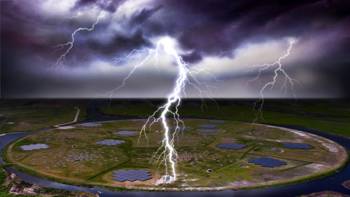 VUB scientists discover why lightning often strikes twice