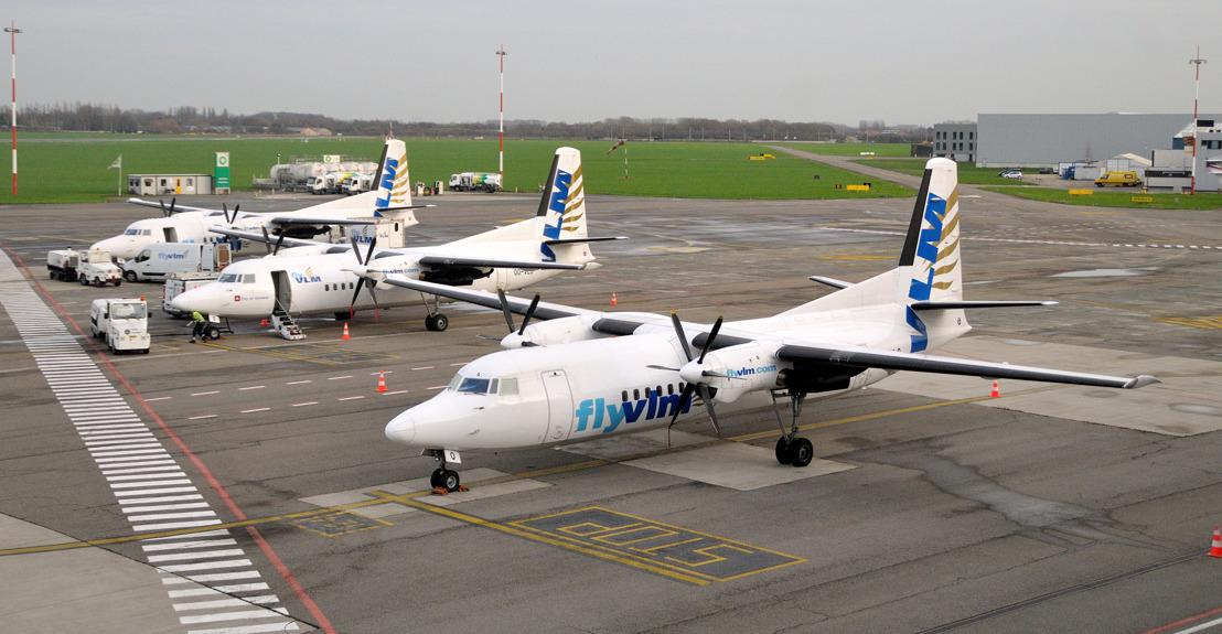 VLM Airlines vliegt vanaf 12 februari van Antwerpen naar Birmingham, München en Maribor