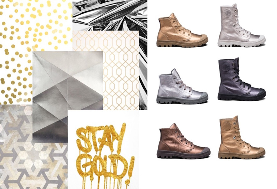 It's time to shine met de Metallic-collectie van Palladium