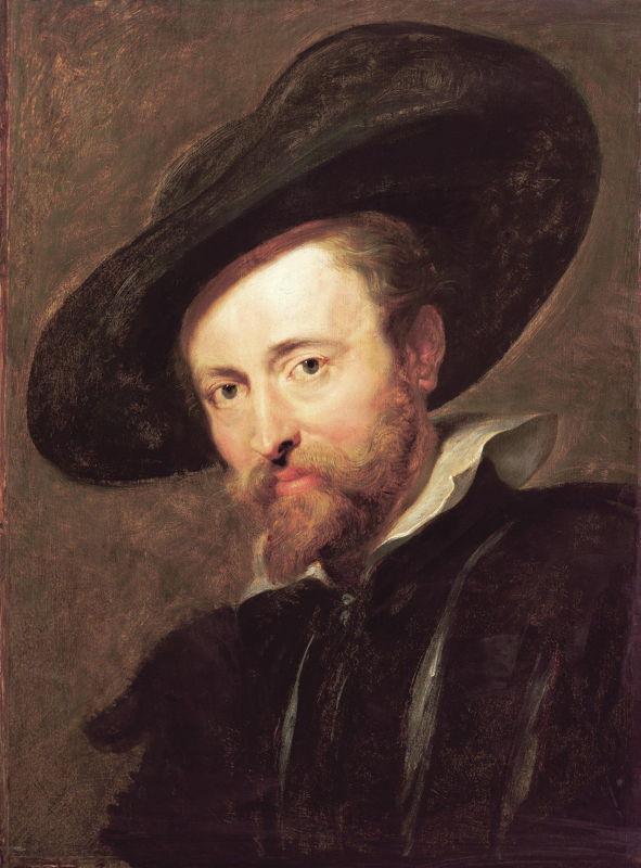 Zelfportret Paul Rubens (c) Beeldarchief collectie Antwerpen