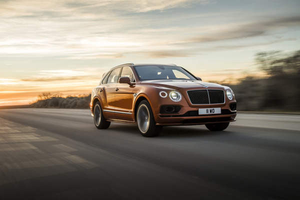 Preview: BENTLEY LAUNCHES WORLD'S FASTEST, MOST LUXURIOUS SUV