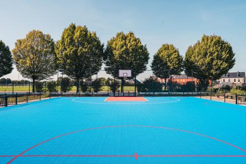 Nieuw multifunctioneel sportterrein op de Geelse campus van Thomas More