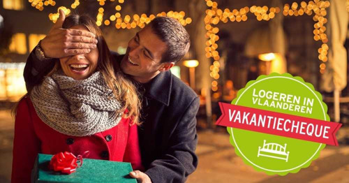 De Logeren in Vlaanderen Vakantiecheque: het ideale eindejaarscadeau