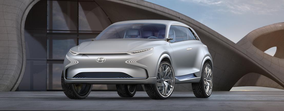 Hyundai Motor onthult volgende generatie Fuel Cell Concept op het autosalon van Genève