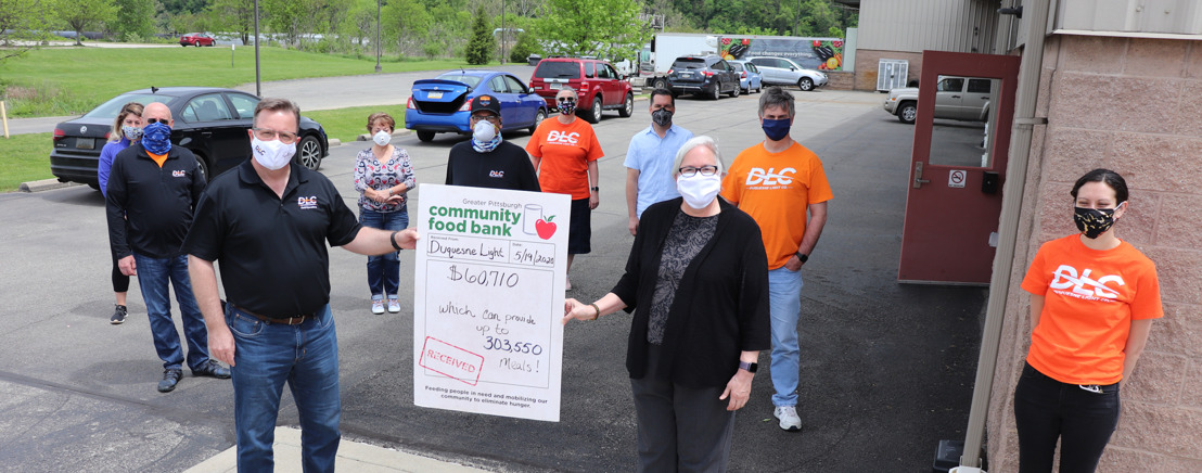 Duquesne Light CEO and Employees Deliver Food to Over 500 Families, Purchase More Than 300,000 Meals for the Food Bank