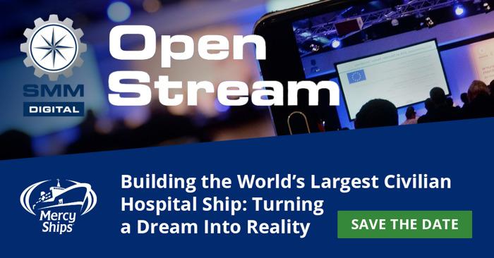 So wird aus dem Traum von Mercy Ships das größte Hospitalschiff der Welt