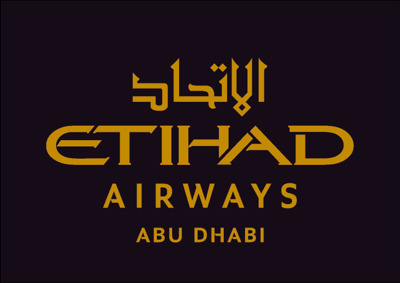 Etihad Airways AMS press room Logo