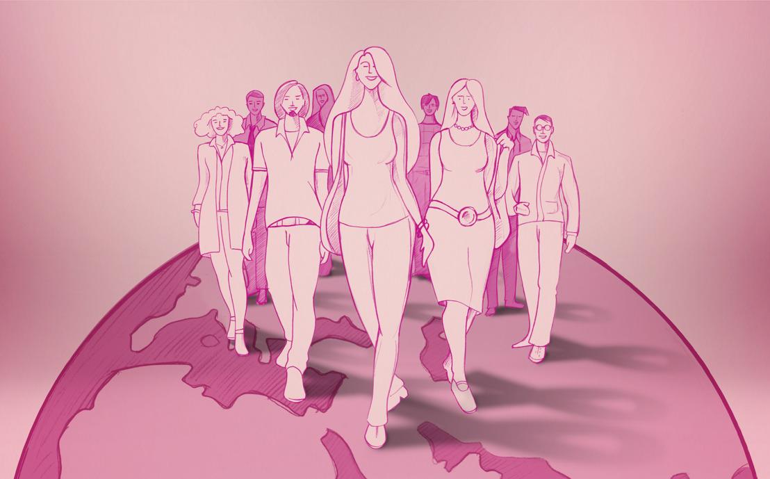 Hays se promène en forme et lutte contre le cancer du sein pendant La Marche Rose