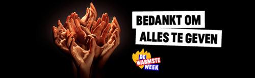Een maand na De Warmste Week: vzw's krijgen eerste deel van de opbrengst en vrijwilligers hebben de smaak te pakken