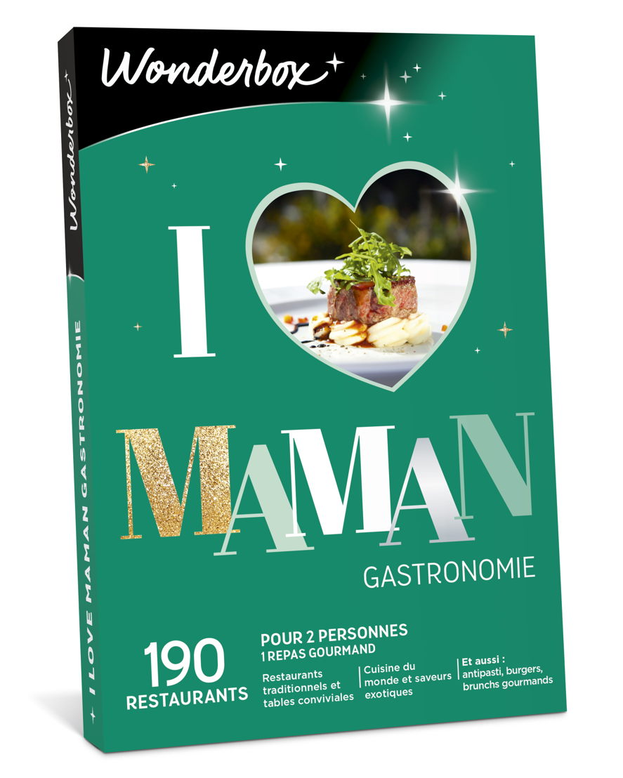 "Wonderbox ""I Love Maman Gastronomie"" : 34,90 €."