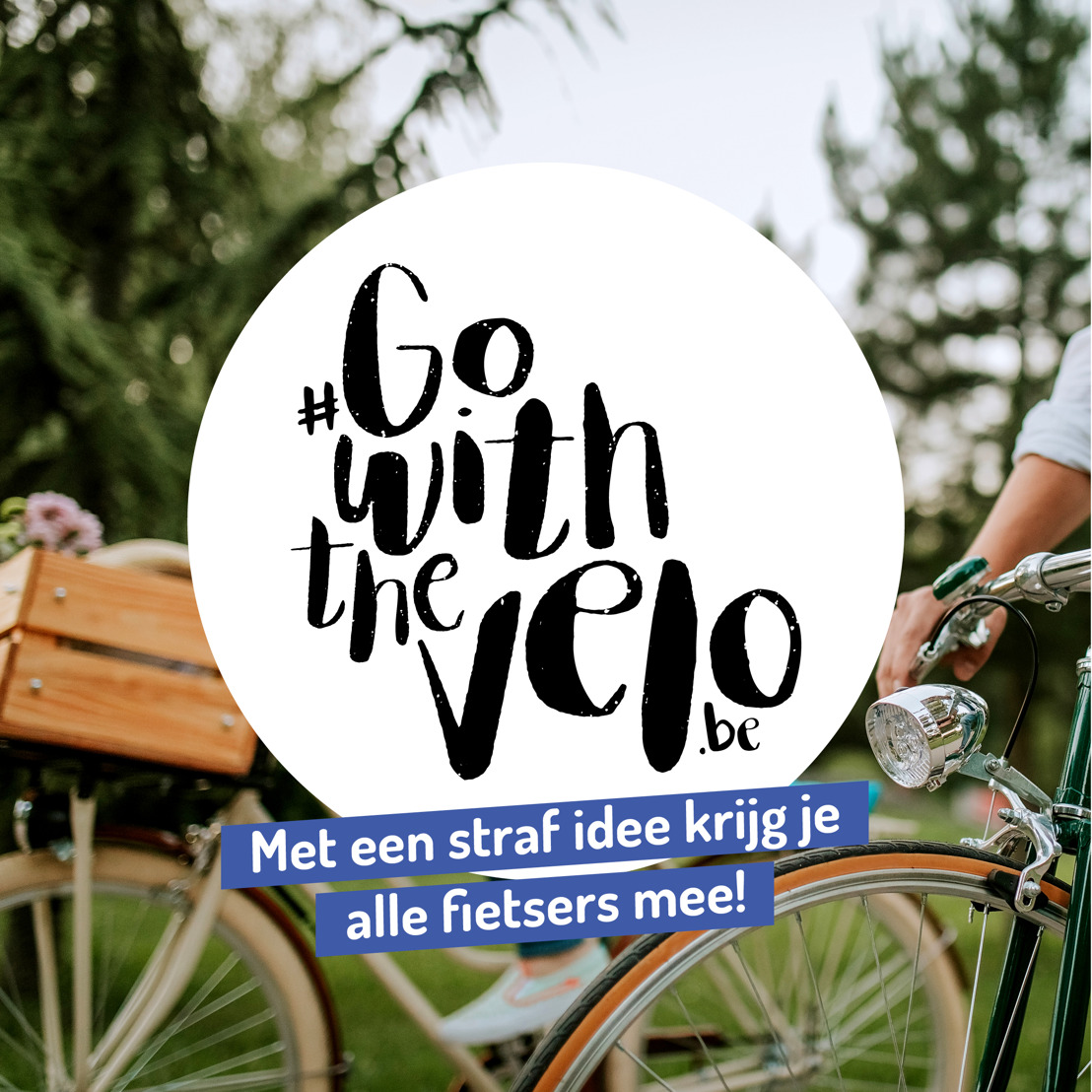 Go With The Velo zet collega's op de fiets!