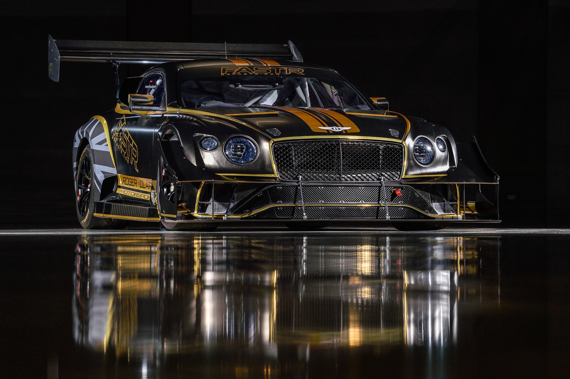 RENEWABLE FUEL TO POWER CONTINENTAL GT3 TO THE CLOUDS – BENTLEY'S 2021 PIKES PEAK RACER UNVEILED