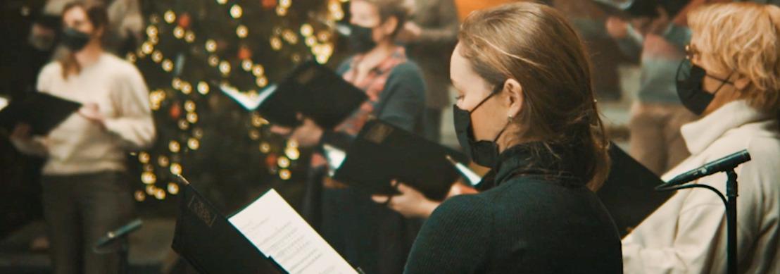 Une chorale belge fait profiter tout un chacun des plus beaux chants de Noël pendant les vacances