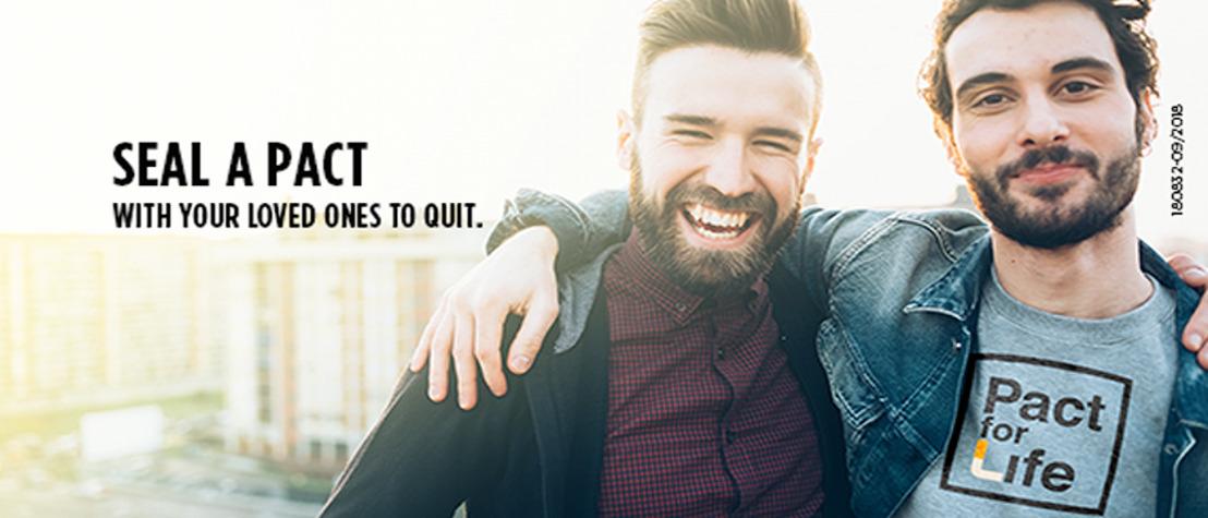 #PactforLife : Un pacte d'un mois pour 5 fois plus de chances d'arrêter de fumer définitivement