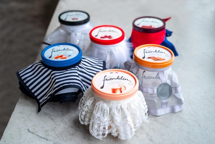 Les glaces Franklin s'habillent en 'collector' pour les fêtes de fin d'année, et pour la bonne cause !