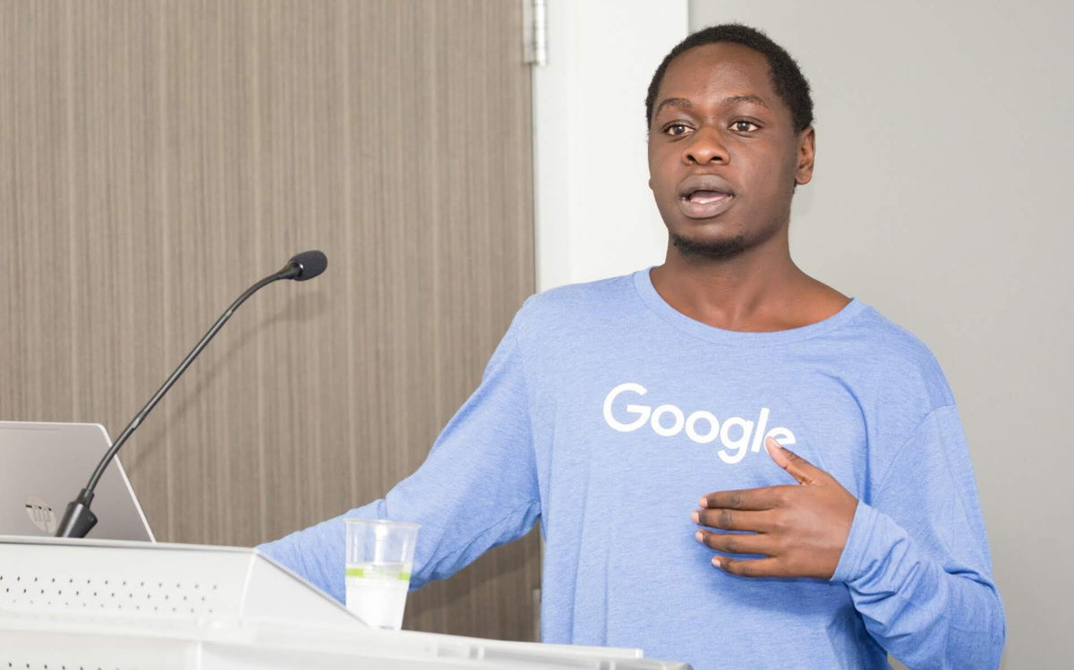 Maye Edwin, Web Developer and Technology Advocate for Google