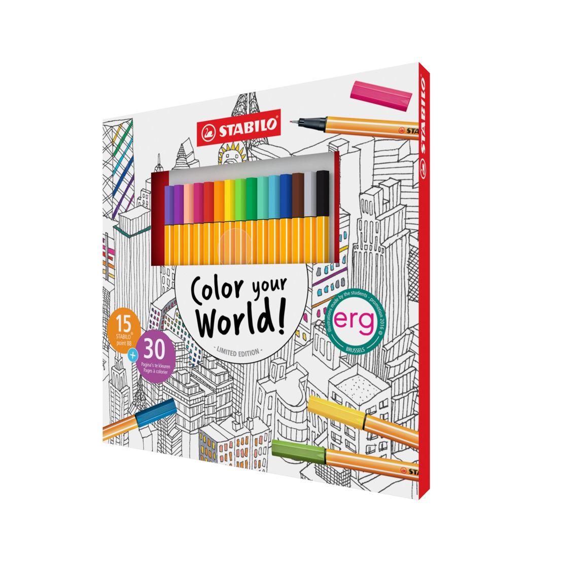 Vaarwel stress! STABILO lanceert een limited edition kleurpakket voor volwassenen