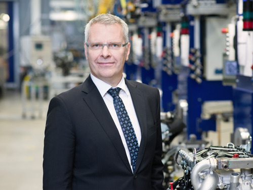 Bernd Krüper takes over as the new CEO at Hatz