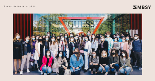 GUESS Europe launches the Guess Z Lab, in collaboration with the Lifestyle-Tech Competence Center and Microsoft