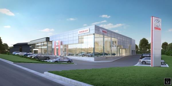 Preview: Toyota en Lexus bouwen gloednieuwe showrooms in Zaventem