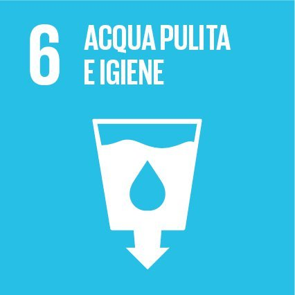 Goal #6: Garantire a tutti la disponibilità e la gestione sostenibile dell'acqua e delle strutture igienico-sanitarie