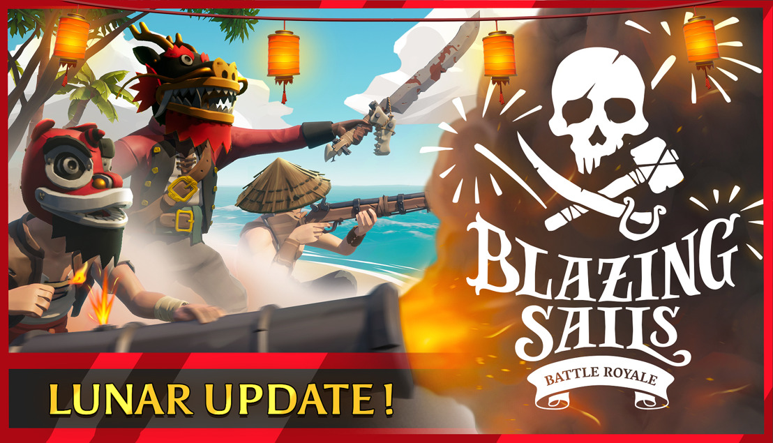 New Trailer + Update for Blazing Sails Pirate Battle Royale!