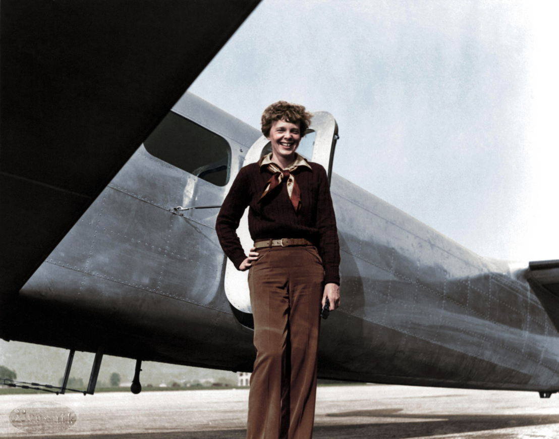 America in Color - afl  2 - Amelia Earhart - (c) Smithsonian Channel