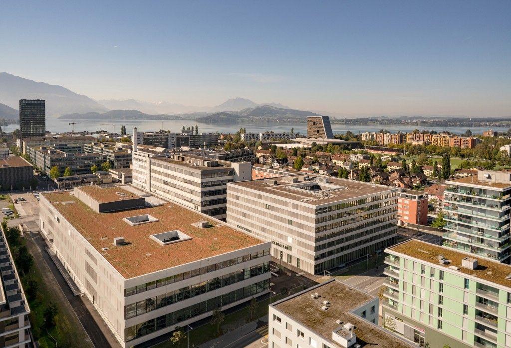 Siemens SI Campus à Zoug, Suisse