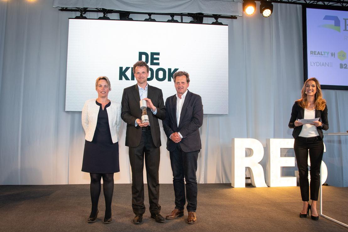 De Krook - Jurylid Joke Schauvliege (Vlaams minister), Krist Biebauw (Stad Gent) en  Ralf Coussée (Coussée-Goris Architects)