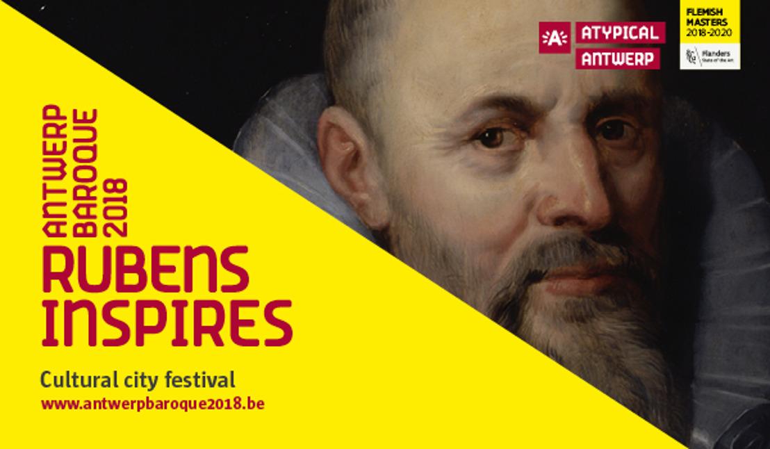 Antwerp Baroque 2018. Rubens inspires