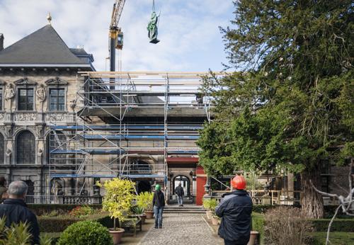 Rubenshuis viert gerestaureerde portiek en tuinpaviljoen